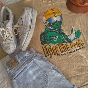 70s Vintage NAS Whiting Field T Shirt